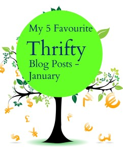 my 5 fave thrifty blog posts