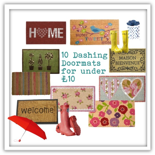 10 Dashing Doormats For Under 163 10 Thrifty Home