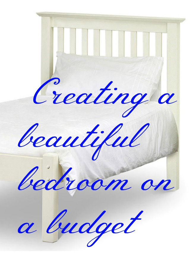 creating a beautfiul bedroom on a budget