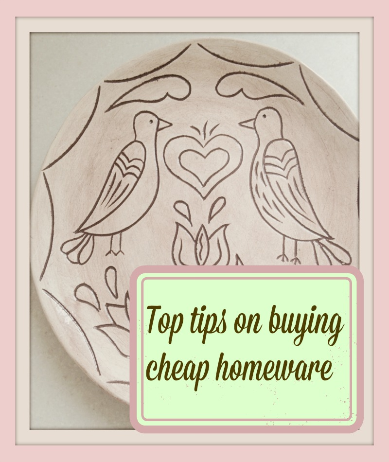 top tips on buying cheap homeware cheaply