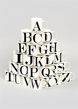 Pick of the week : Alphabet Mug