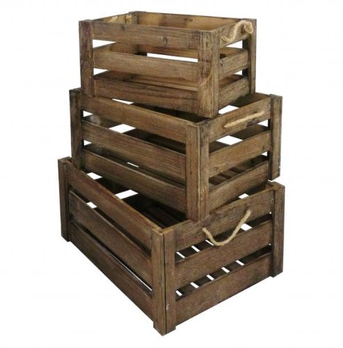 Thrifty pick of the week apple crates thrifty home for Used apple crates