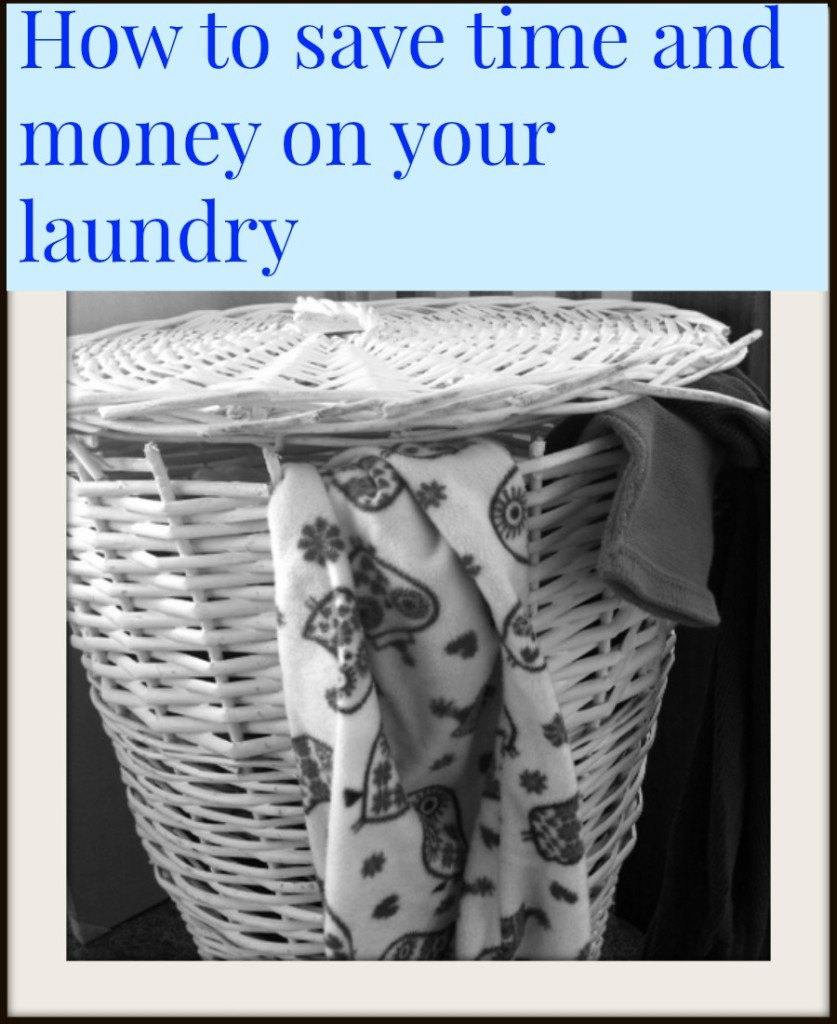 how to save time and money on your laundrry