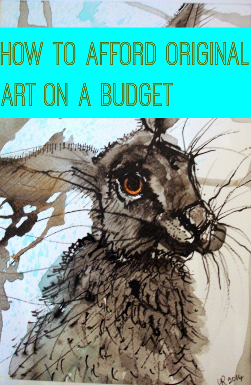 how to buy original art on a budget thrifty home