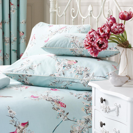 Pick of the Week: Duck Egg Beautiful Birds Collection Boudoir Cushion