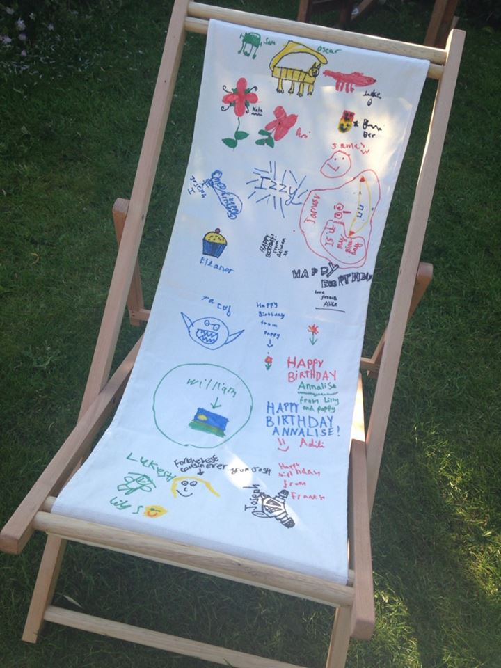 How to upcycle a deckchair