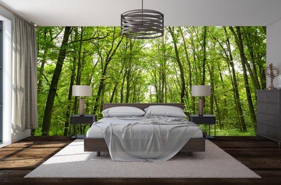 bedroom-trees