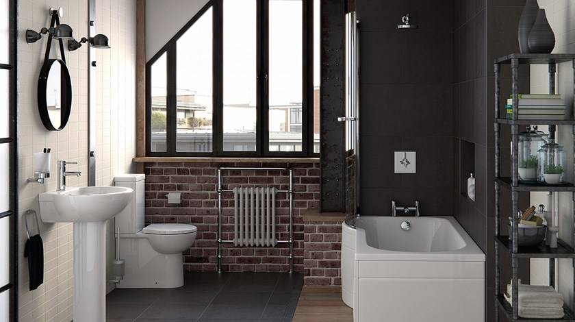 How to style a small bathroom
