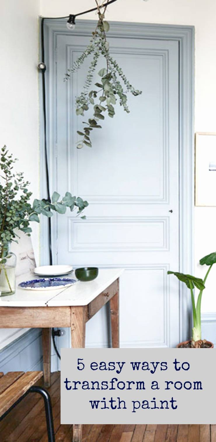easy ways to transform a room with paint