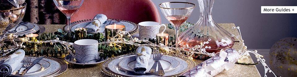 Christmas table setting guide