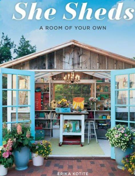 Win a copy of She Sheds