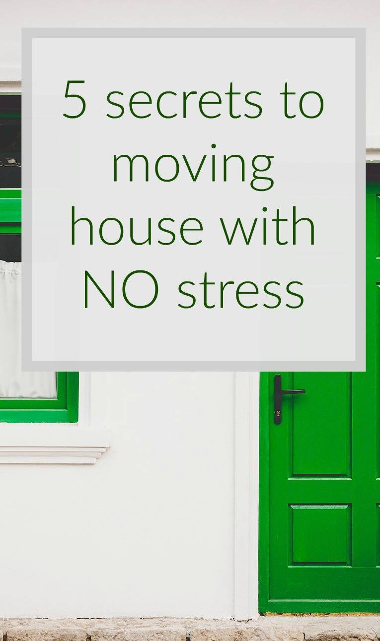 5 secrets to moving house with no stress its can be done for How to move a building