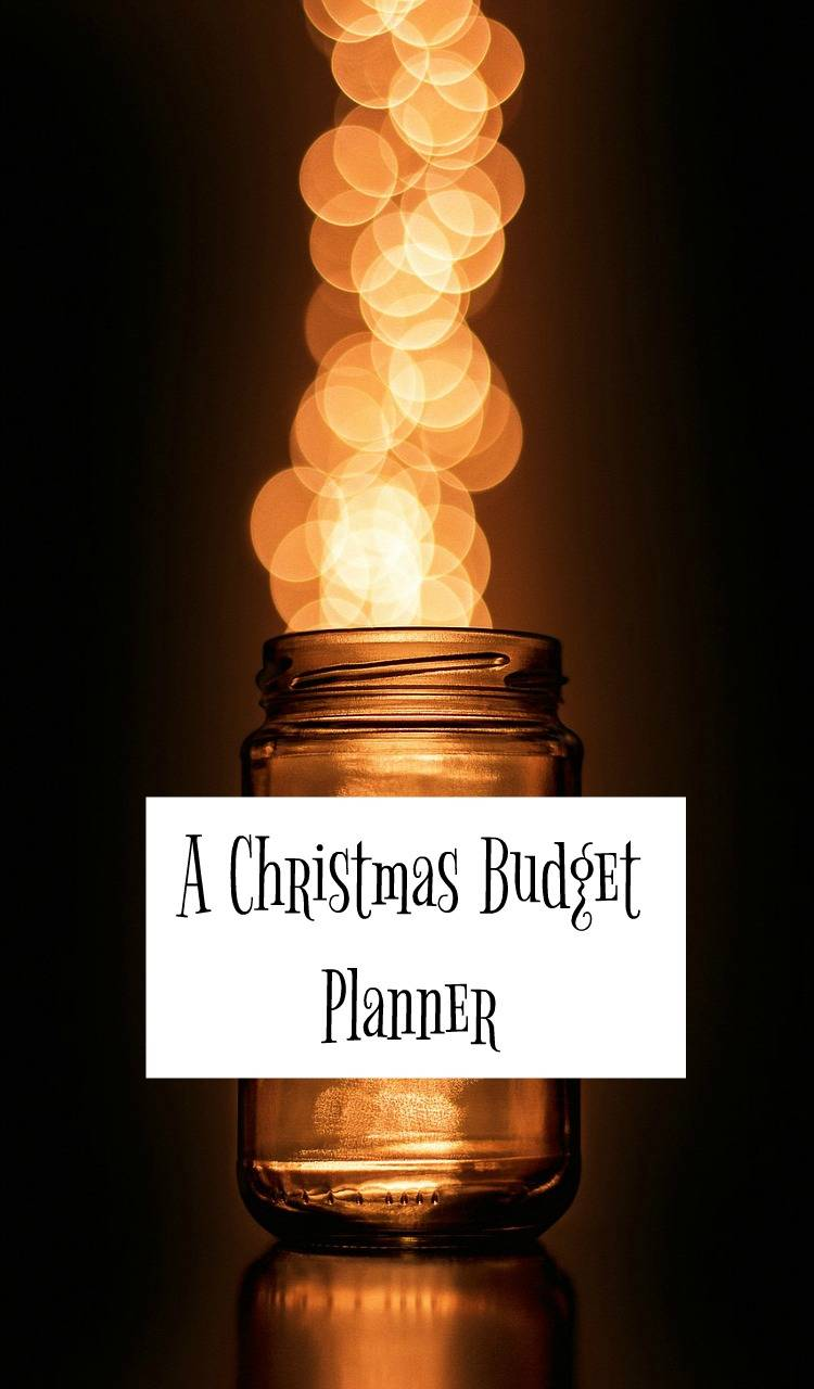 A chirstmas budget planner to lkeep your Christmas spending under control