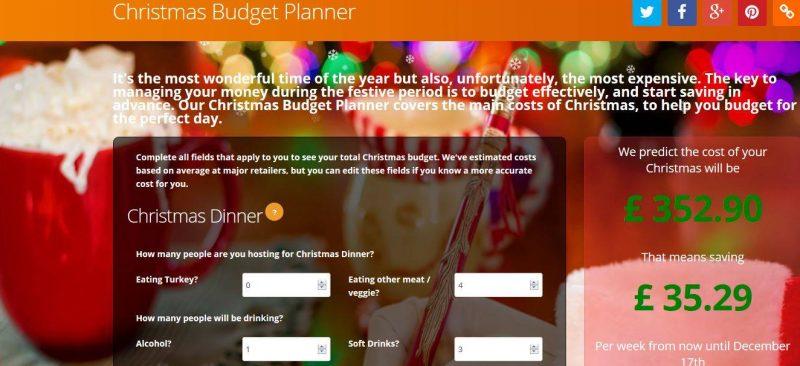 a christmas budget planer to keep you on track for christmas