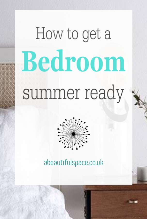 getting a bedroom summer ready