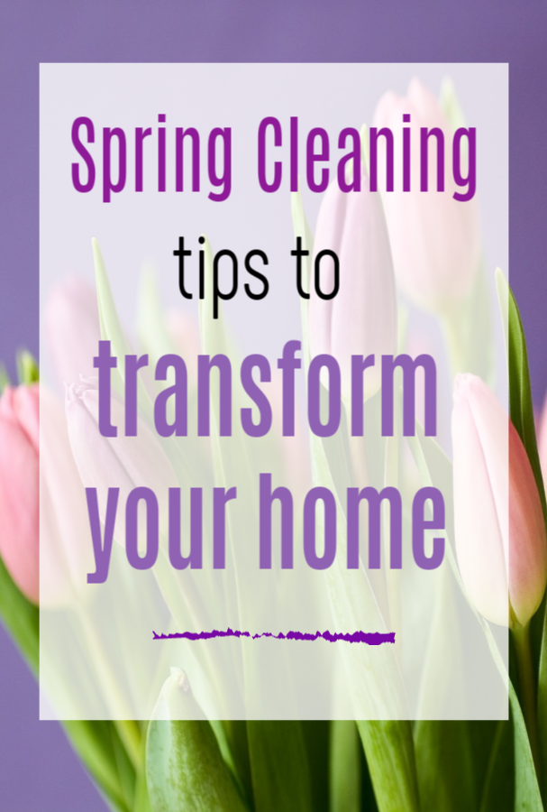 Spring Cleaning Tips To Transform Your Home, tips to clean your house really well and prepare it for spring #springcleabn #springcleaning #springcleaning tips #cleaninghacks