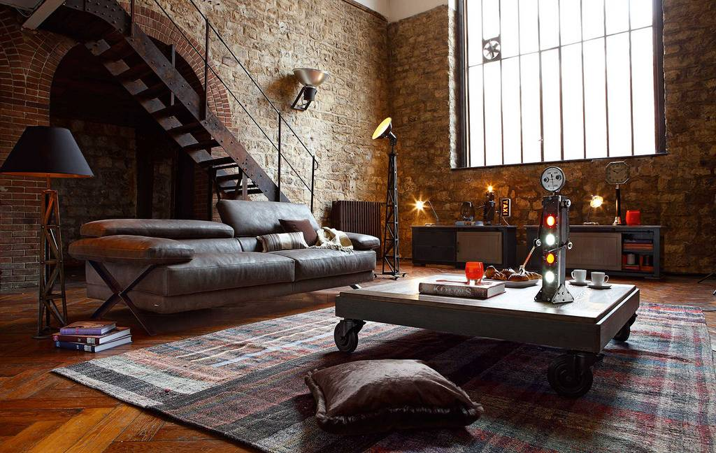 industrial style makeover