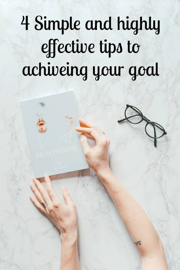 highly effective steps to achieving a goal