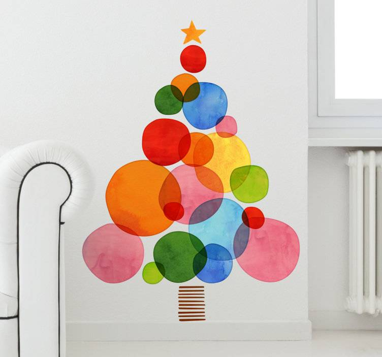 perfect Christmas tree for a minimalist