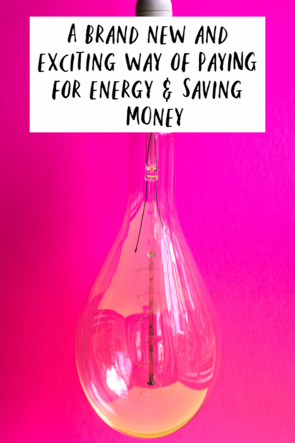 new way of paying for energy, yearly energy bill