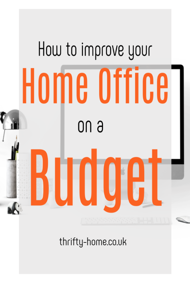 Improving Your Home Office on a Budget, top tips for a fabulous and thrifty home office makeover #homeoffice #budgetoffice #officemakeover