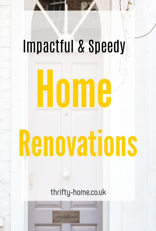 Speedy home renovations