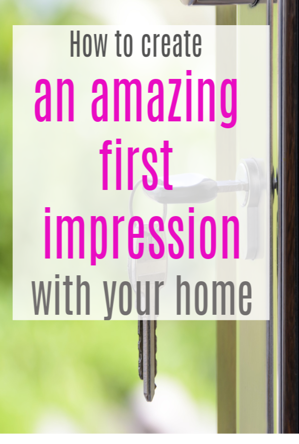 Creating a wonderful first impression with your home