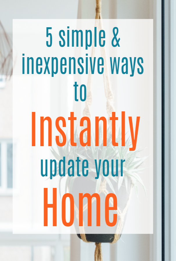 instantly update your home
